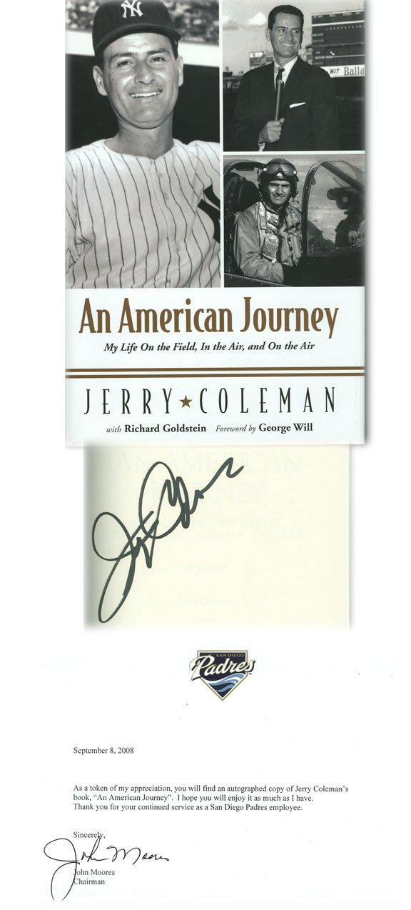 An American Journey by Jerry Coleman