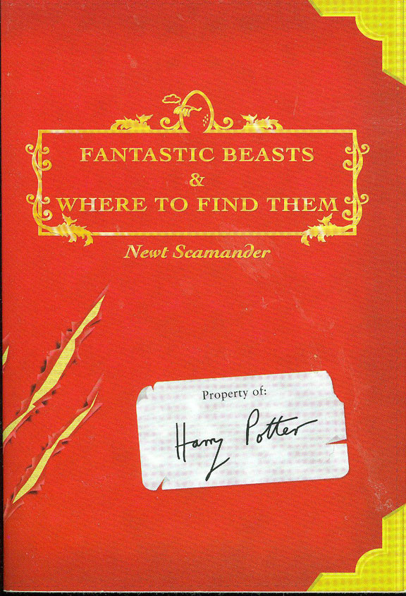 Fantastic Beasts & Where to Find Them by Newt Scamander (J.K. Rowling)