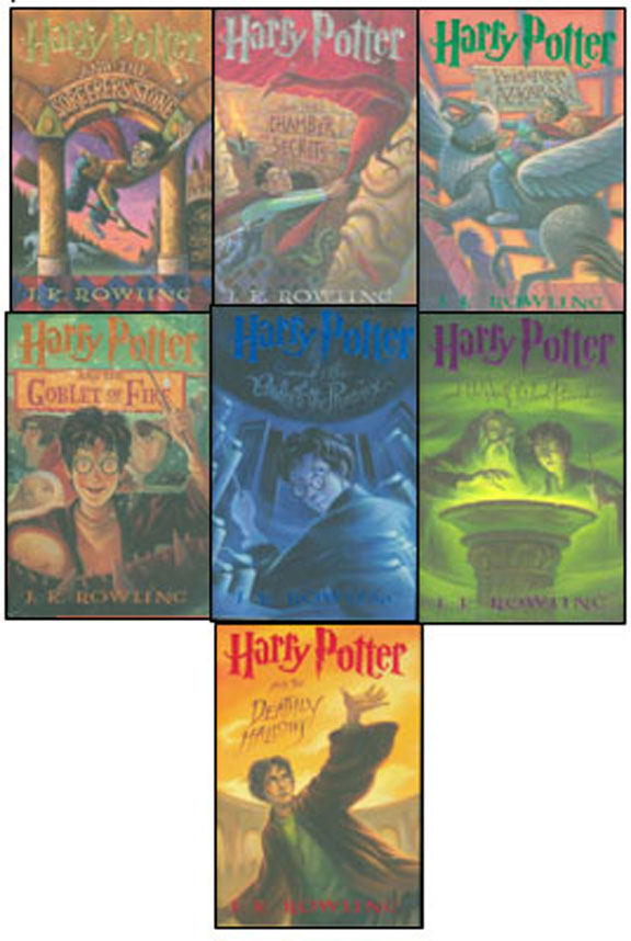 Harry Potter Series - Years 1-7 by J.K. Rowling