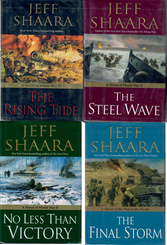 Jeff Shaara Trilogy Plus 1