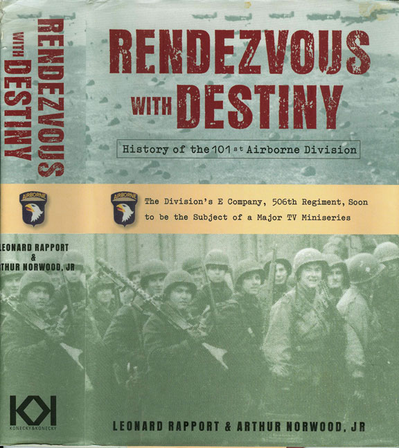 Rendzevous With Destiny by Leonard Rapport & Arthur Norwood, Jr.