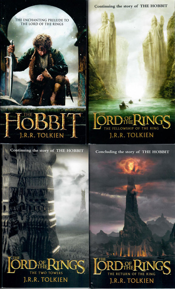 The Hobbit and The Lord of the Rings Trilogy by J.R.R. Tolkien