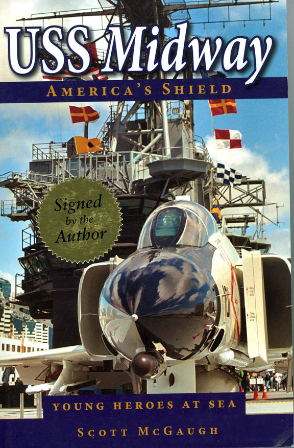 USS MIDWAY - America's Shield by Scott McGaugh