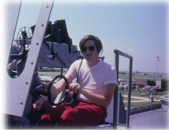 Rex at the USS Alabama