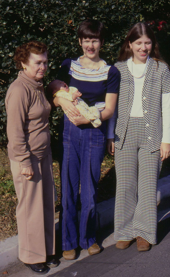 Mom, Kerrie, Joyce, and Cindi