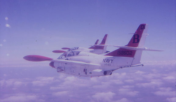 T-2C Buckeye Formation Flight