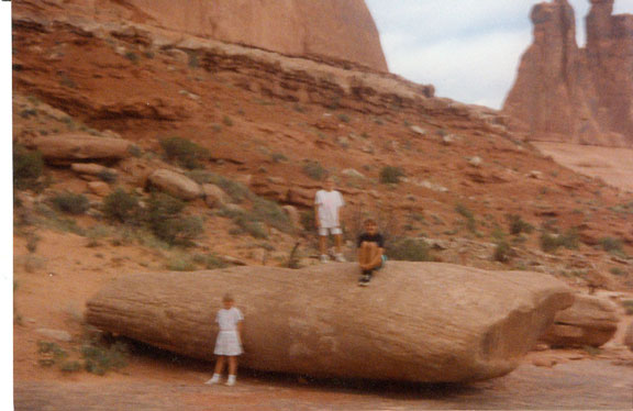 Arches National Park-Becki, Jenni, and Cindi