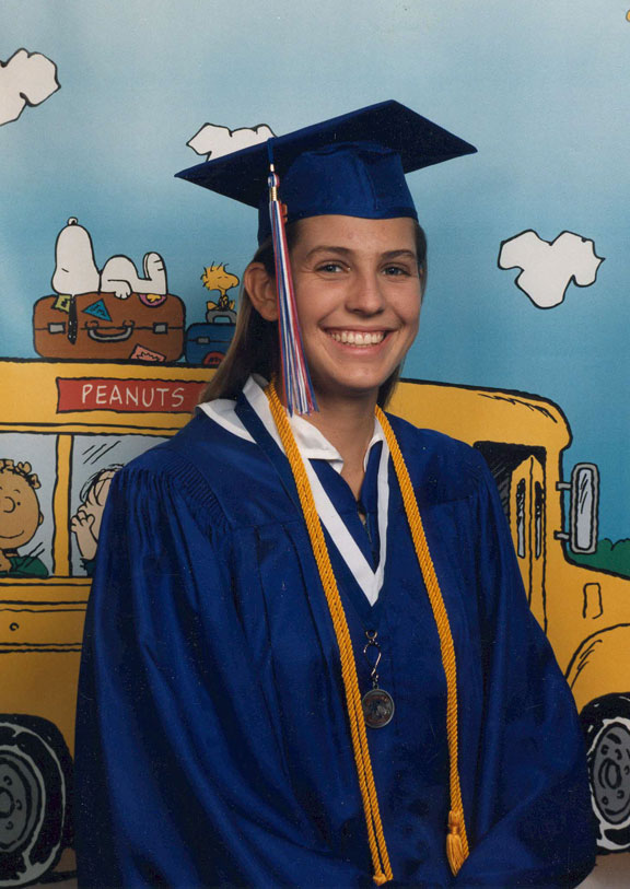 Cindi's High School Graduation, 1996