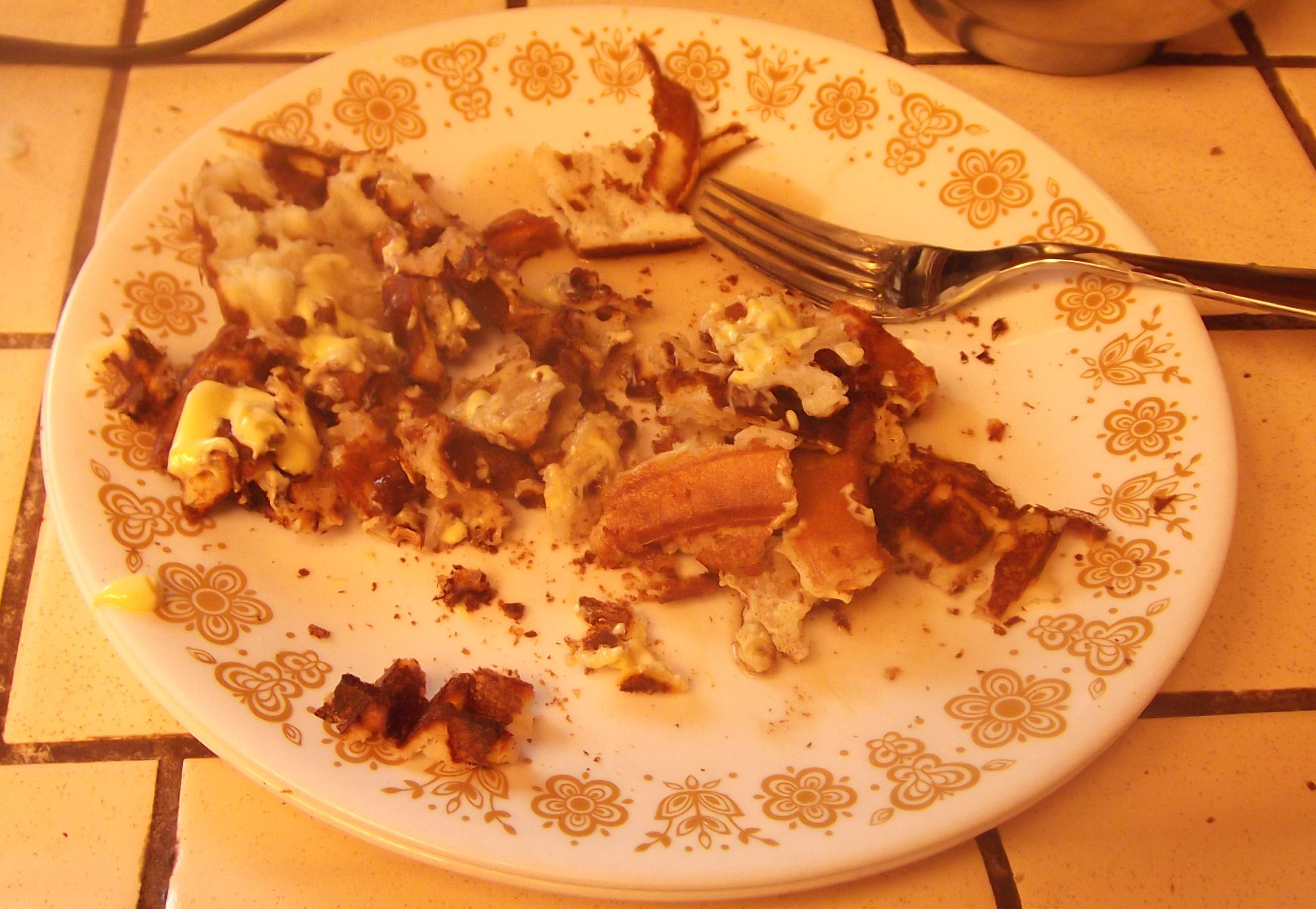 Betty Crocker Bisquick Waffle Disaster