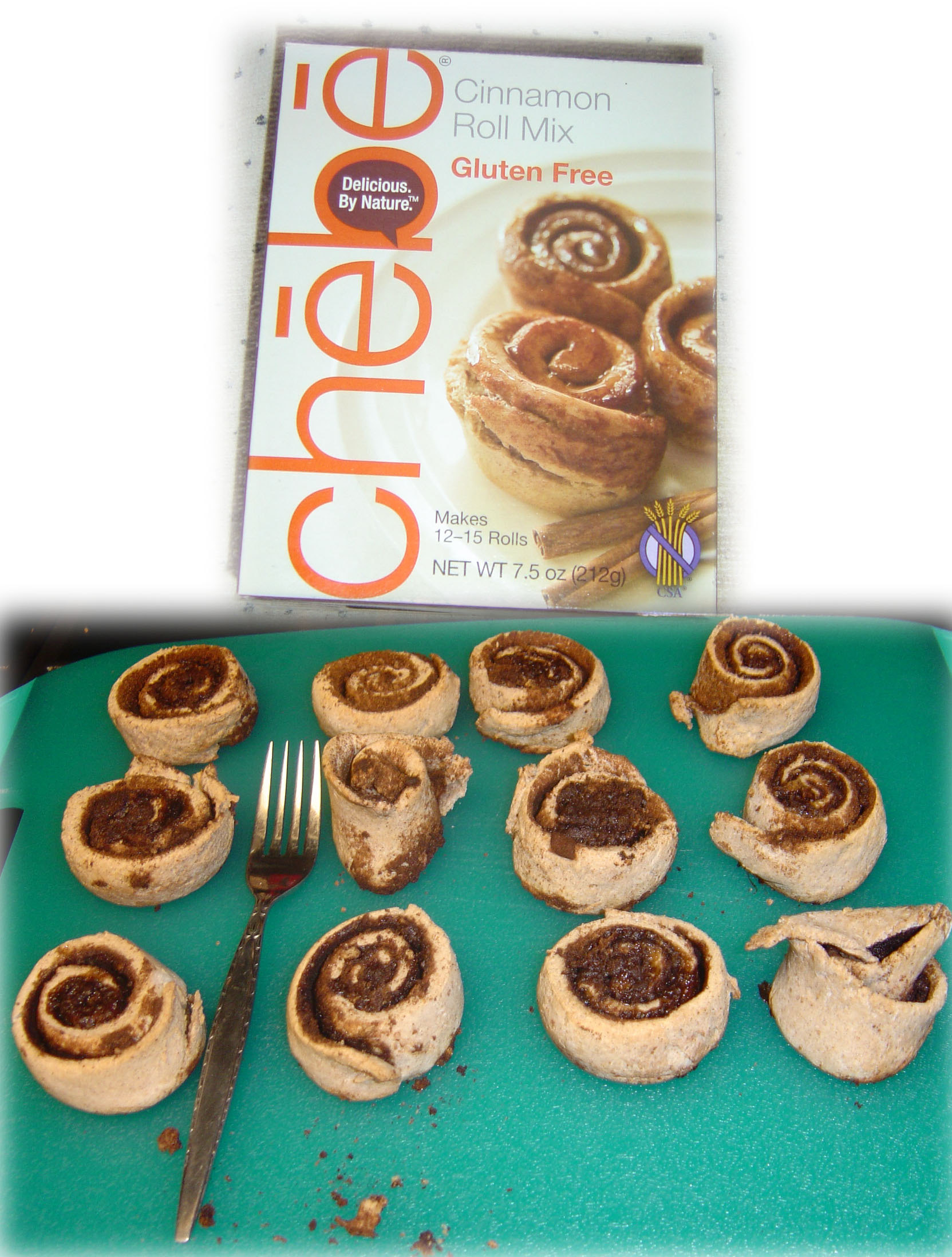 Chebe Cinnamon Roll Mix
