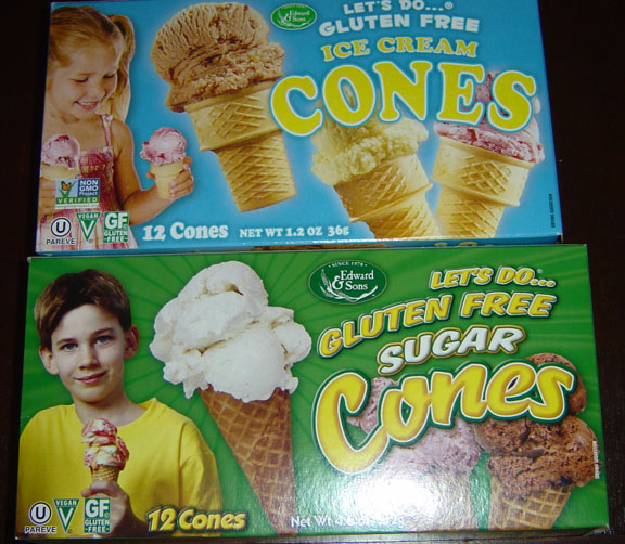 Edward and Sons Ice Cream Cones