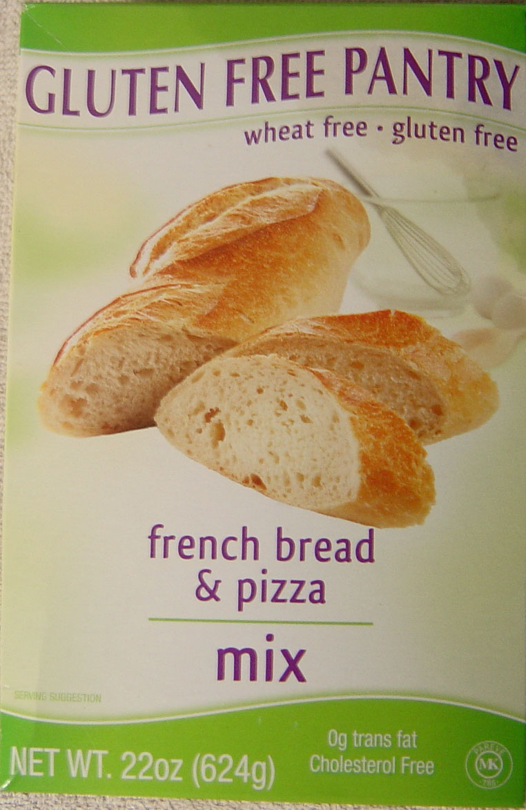 Gluten Free Pantry French Bread and Pizza Mix