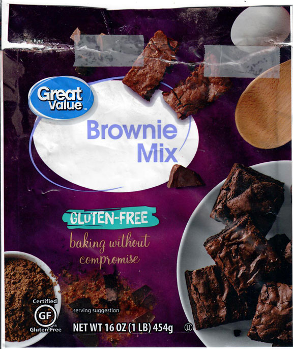 Great Value Brownie Mix