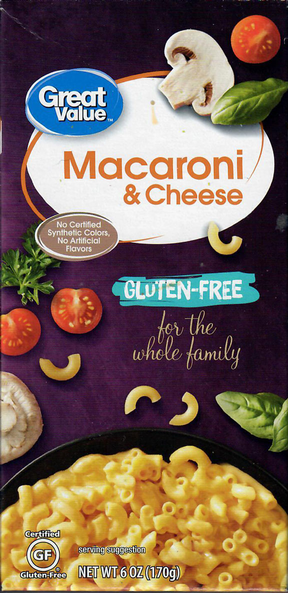 Great Value Macaroni & Cheese