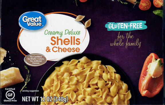 Great Value Shells & Cheese