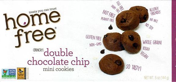 Home Free Double Chocolate Chip Cookies