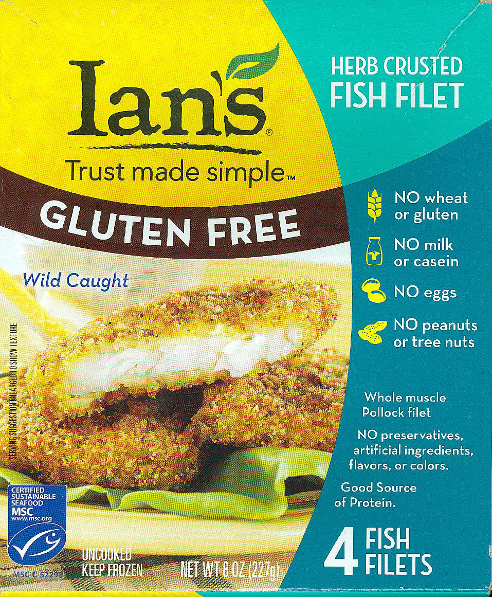 Ian's  Herb Crusted Fish Fillets