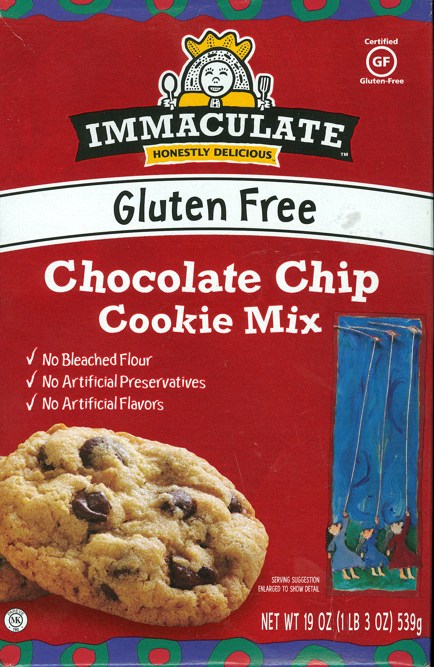 Immaculate Chocolate Chip Cookie Mix