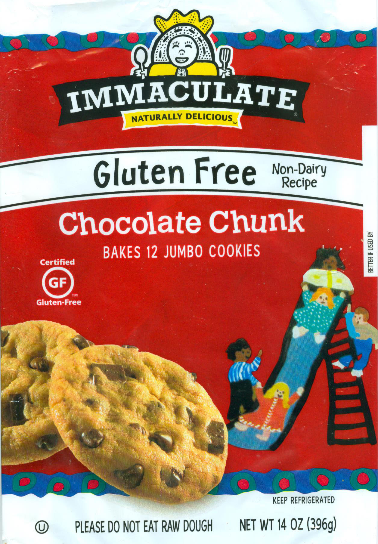 Immaculate Chocolate Chunk Cookie Mix