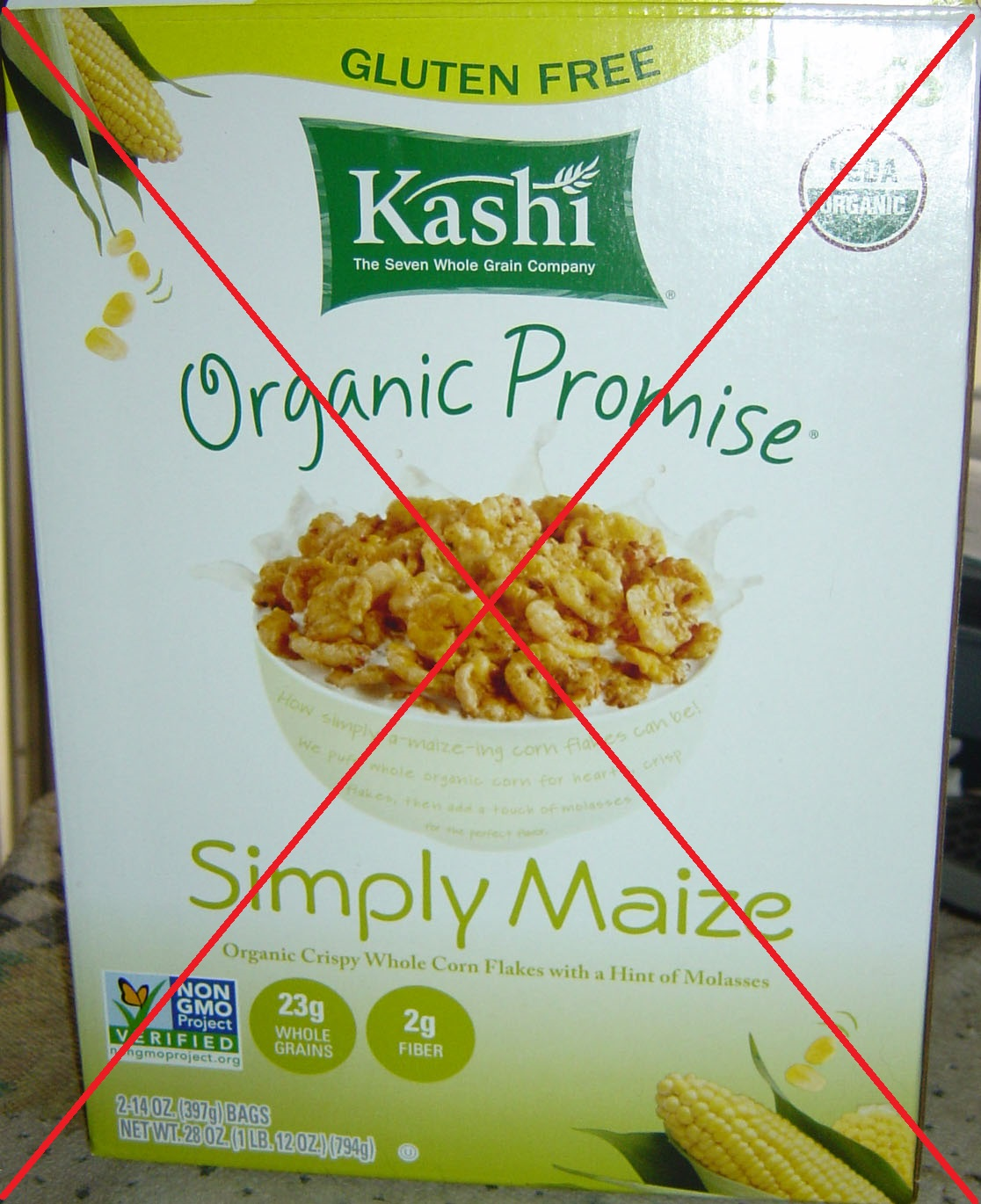 Kashi Simply Maize Cereal