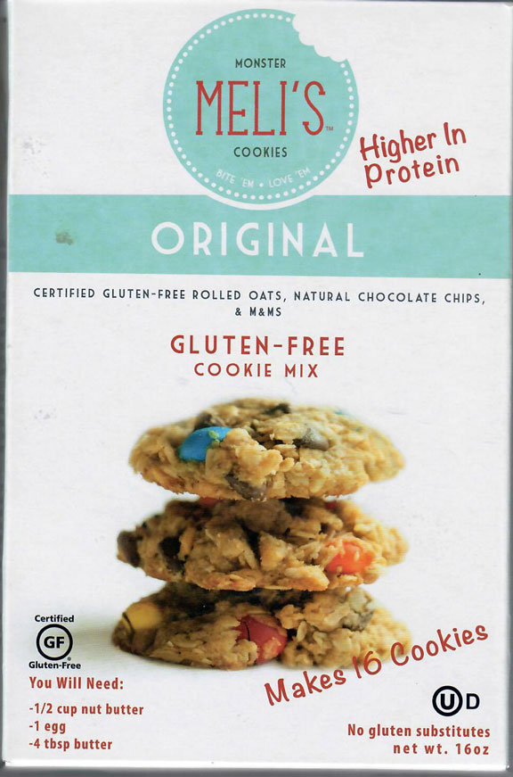 Meli's Monster Oatmeal Cookie Mix