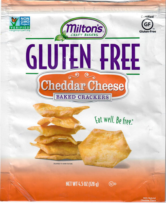 Milton's Cheddar Cheese Crackers