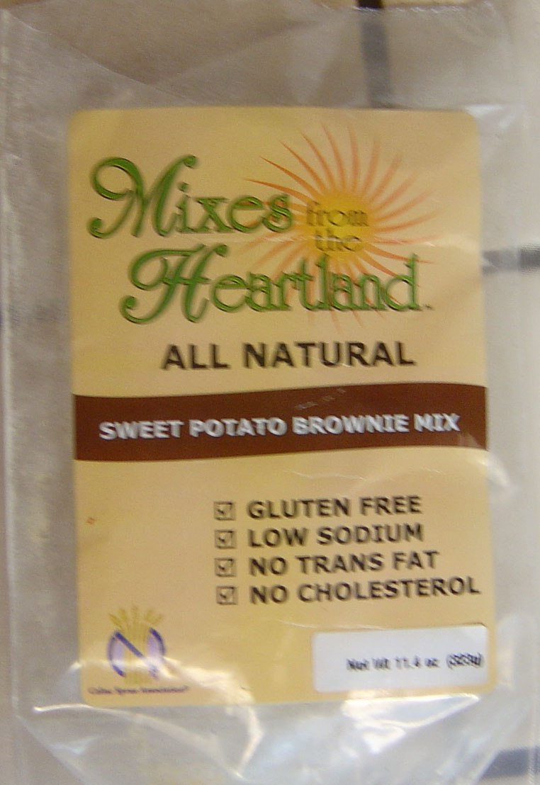 Mixes from the Heartland Sweet Potato Brownies