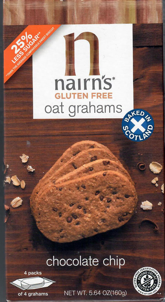 Nairn's Oat Grahams - Chocolate Chip