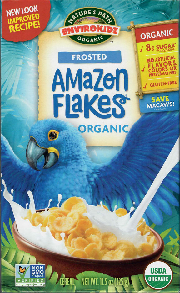 Nature's Path Frosted Amazon Flakes