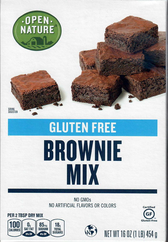 Open Nature Brownie Mix