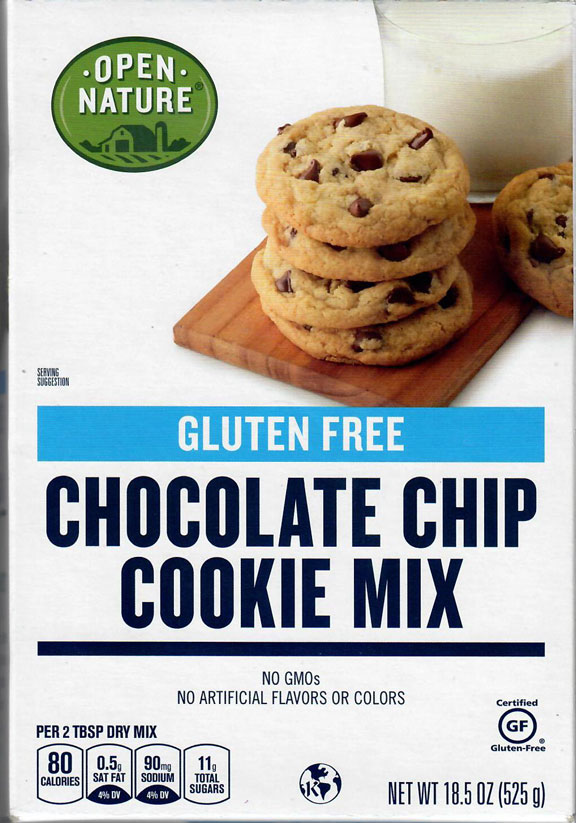Open Nature Chocolate Chip Cookie Mix