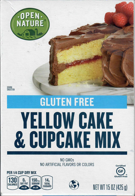 Open Nature Yellow Cake and Cupcake Mix