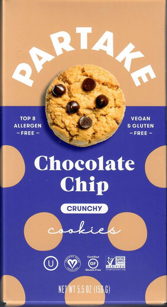 Partake Chocoloate Chip Cookies