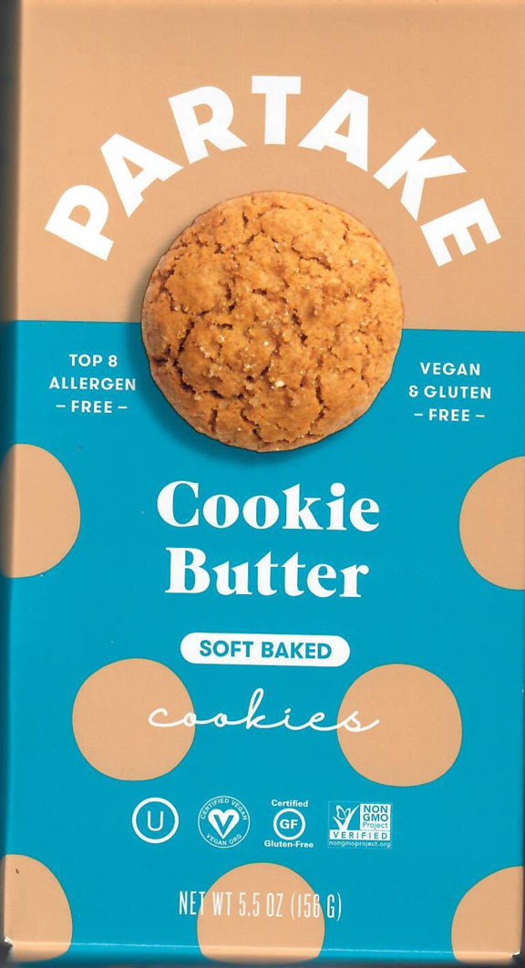 Partake Cookie Butter - Soft Cookies
