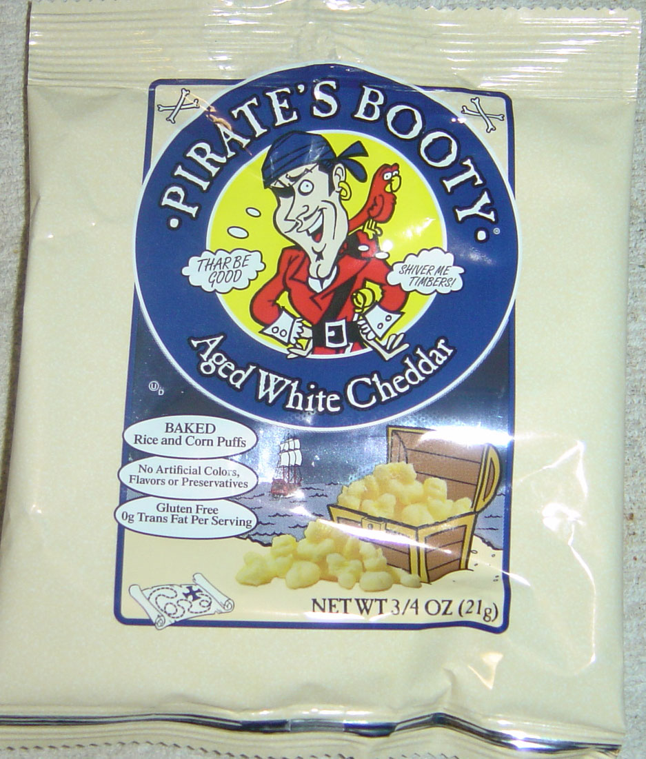 Pirate's Booty White Cheddar Popcorn