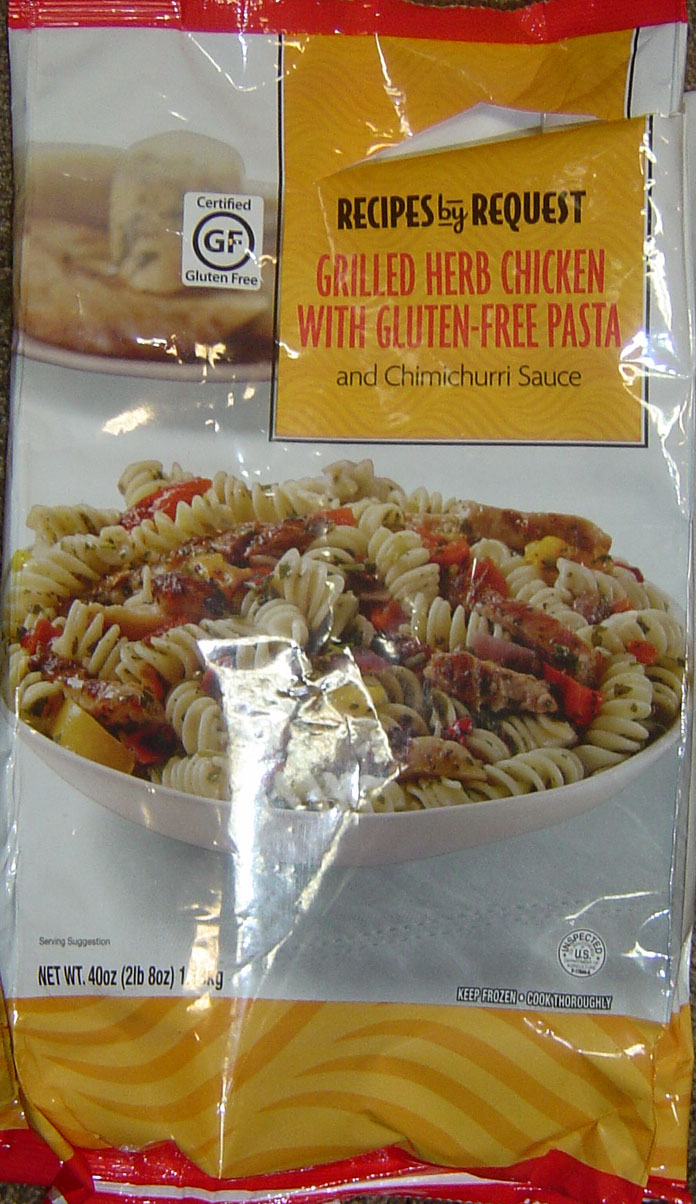 Recipes by Request Grilled Herb Chicken with Gluten-free Pasta