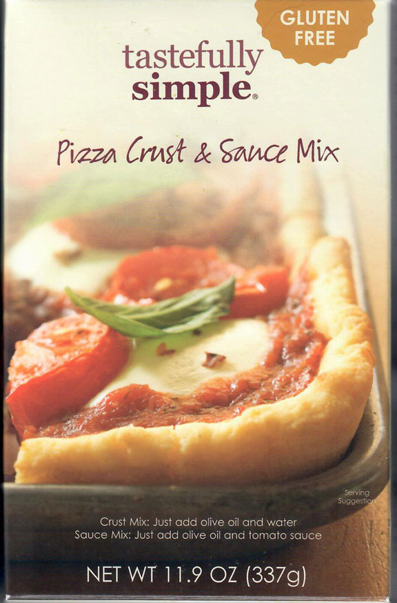 Tastefully Simple Pizza Crust and Sauce Mix