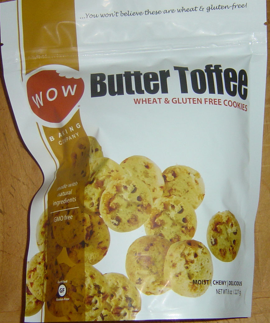 Wow Butter Toffee Cookies