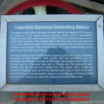 Greenfield Electrical Generation Station