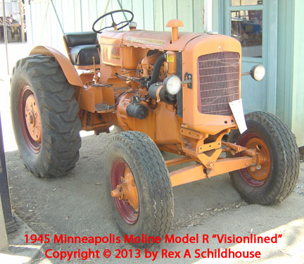 Minneapolis-Moline Model R