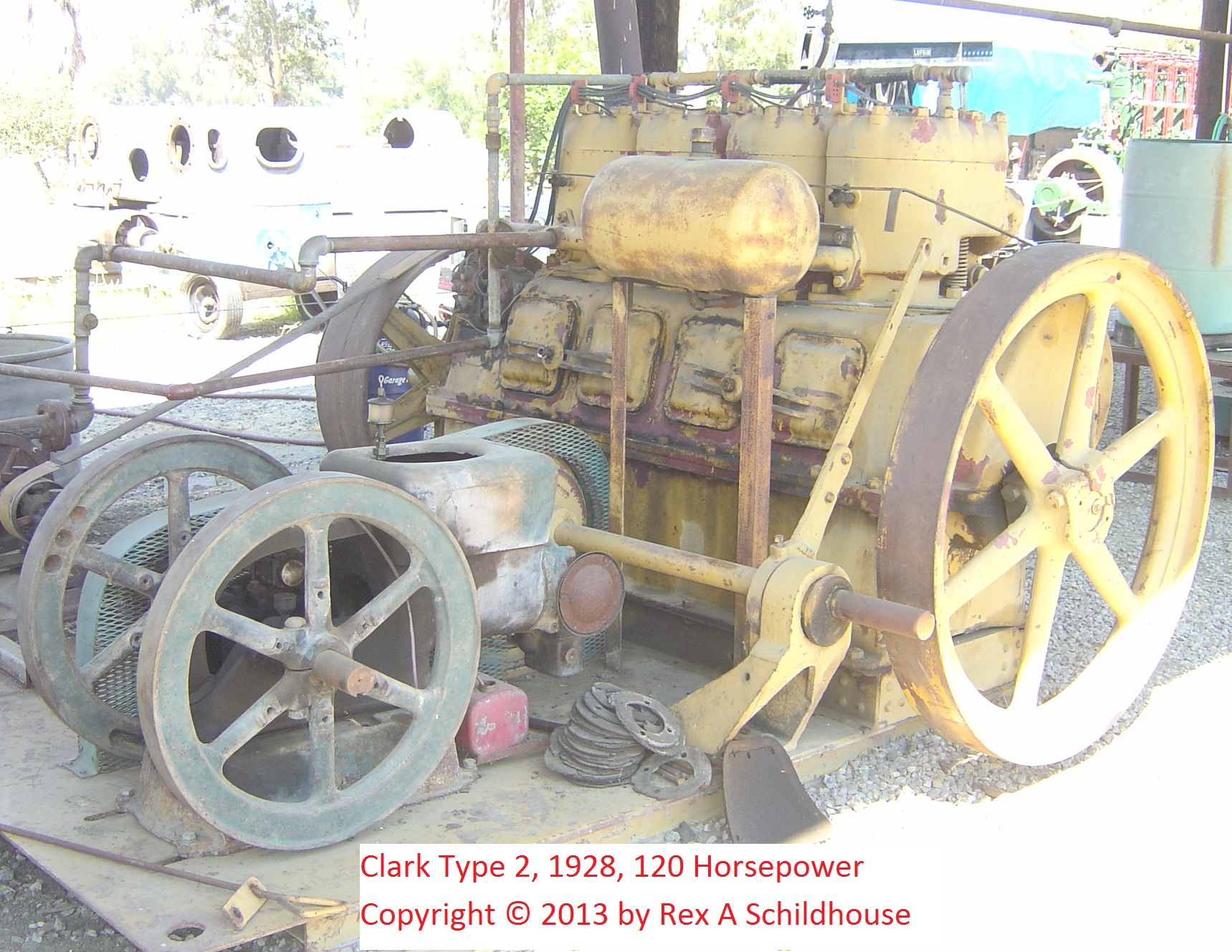 Clark Type 2 Gas Engine