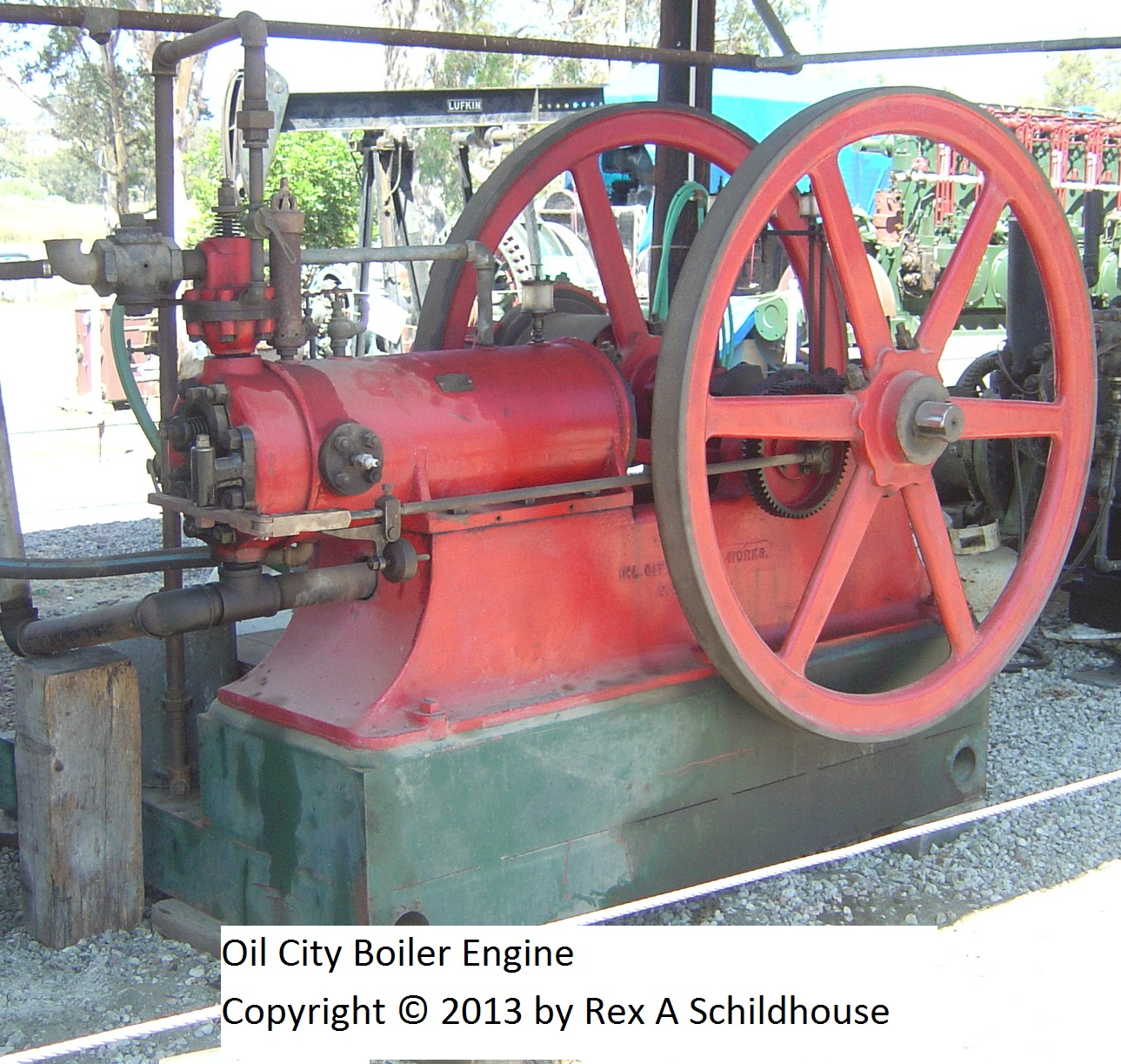 Oil City Boiler Engine