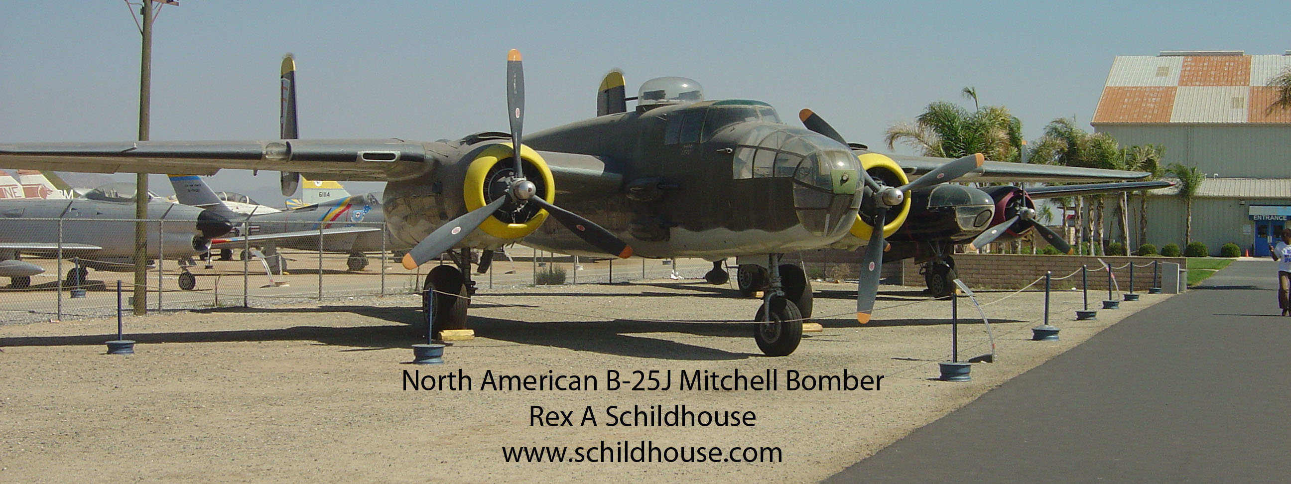 North American B-25J Mitchell Bomber