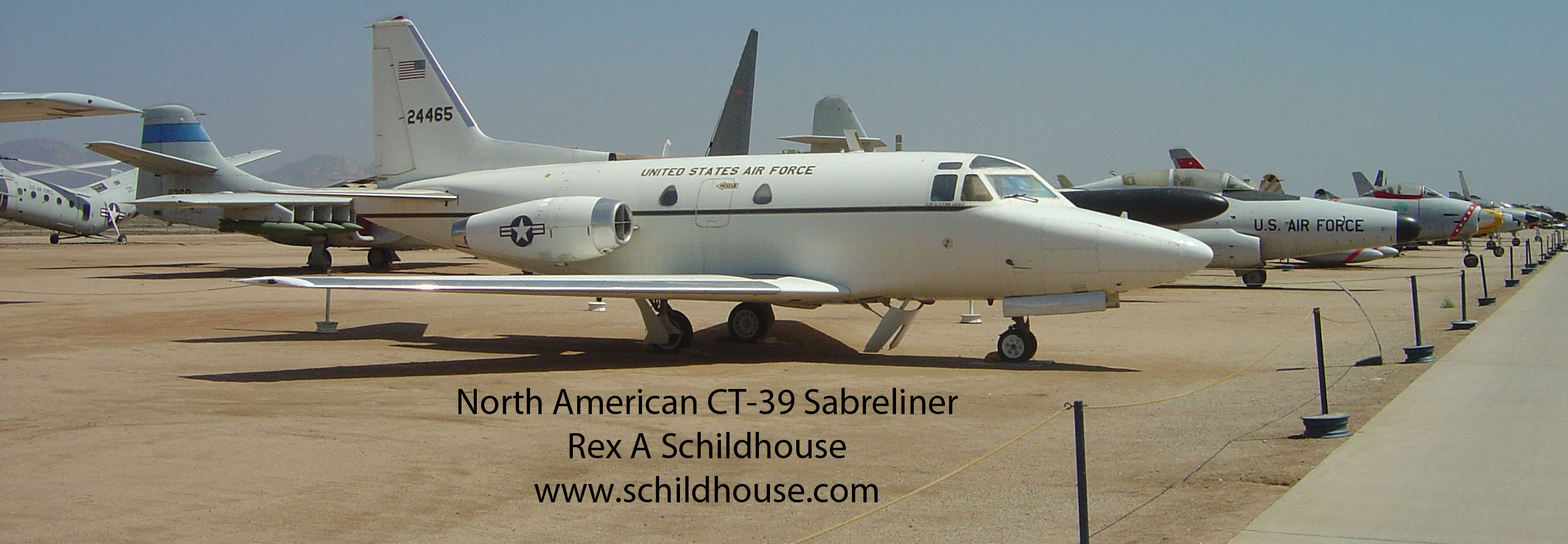 North American CT-39 Sabreliner