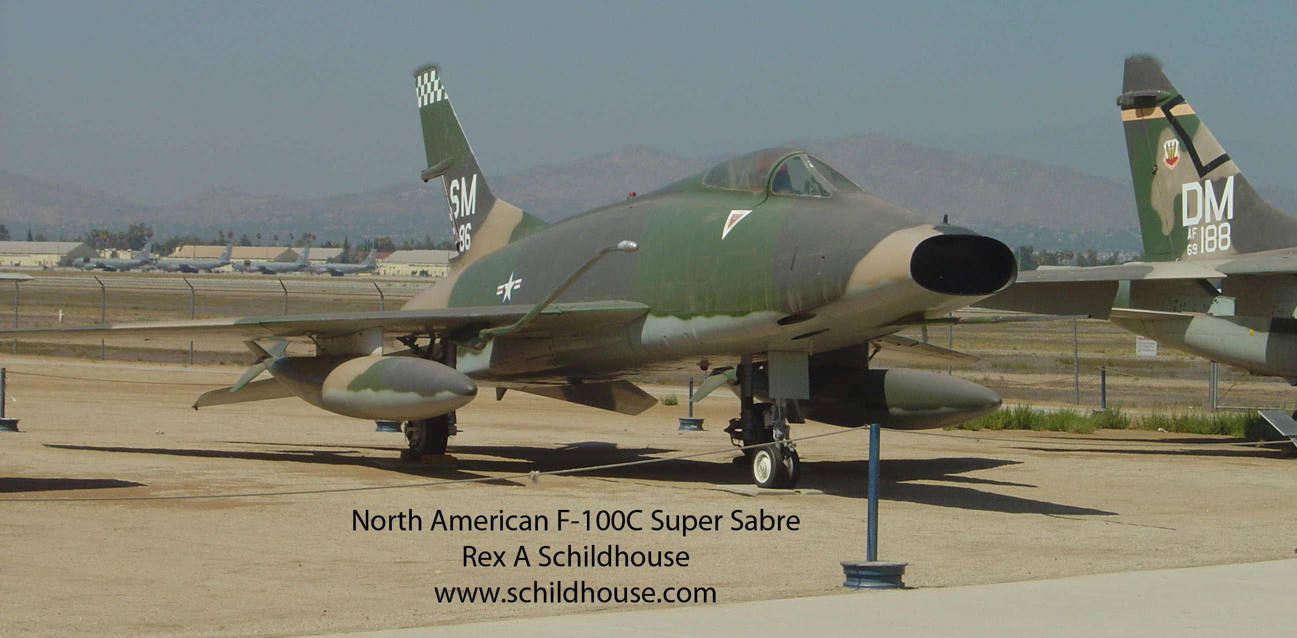 North American F-100C SuperSabre