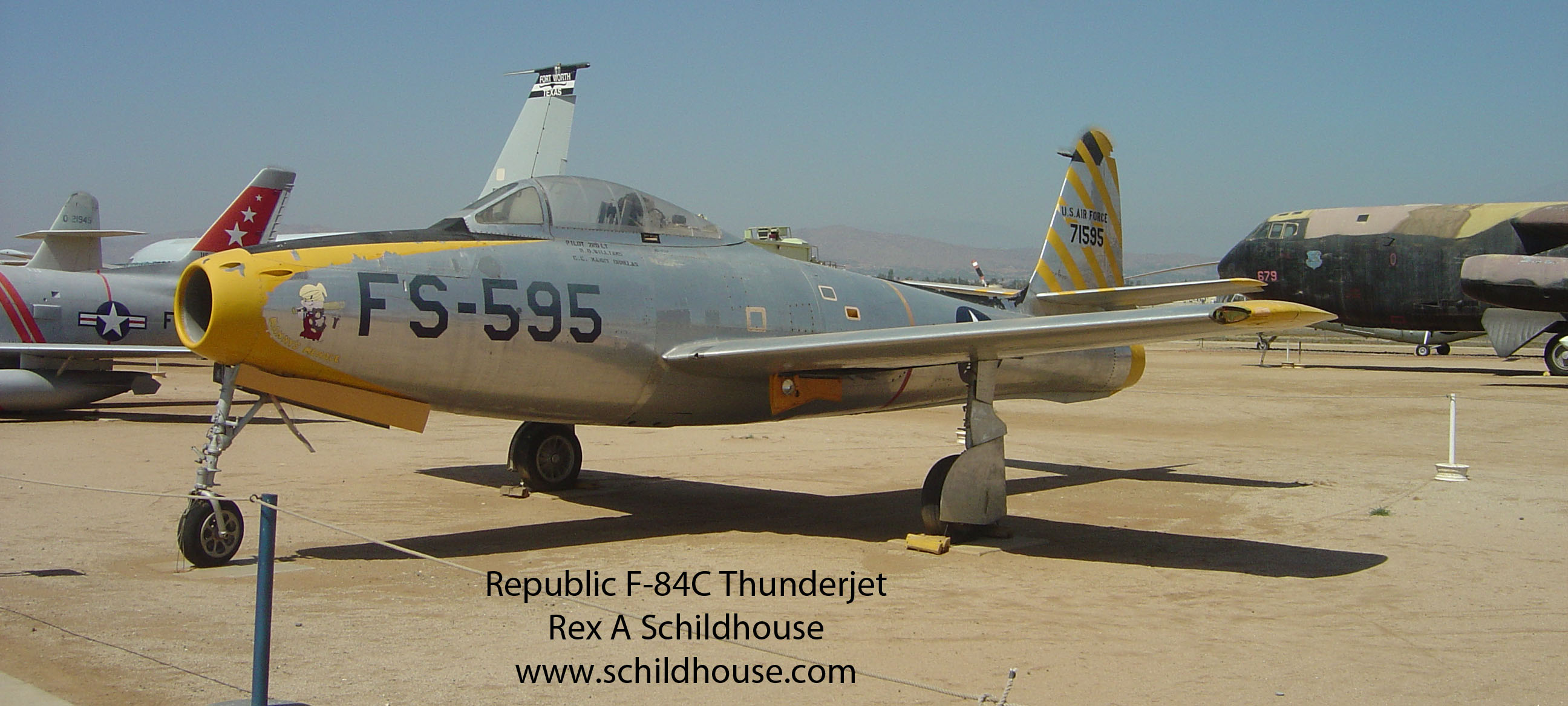 Republic F-84C Thunderjet