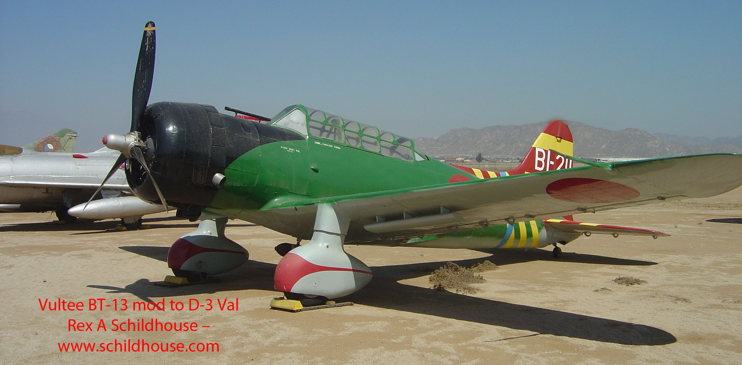Vultee BT-13 Mod to D-3 Val