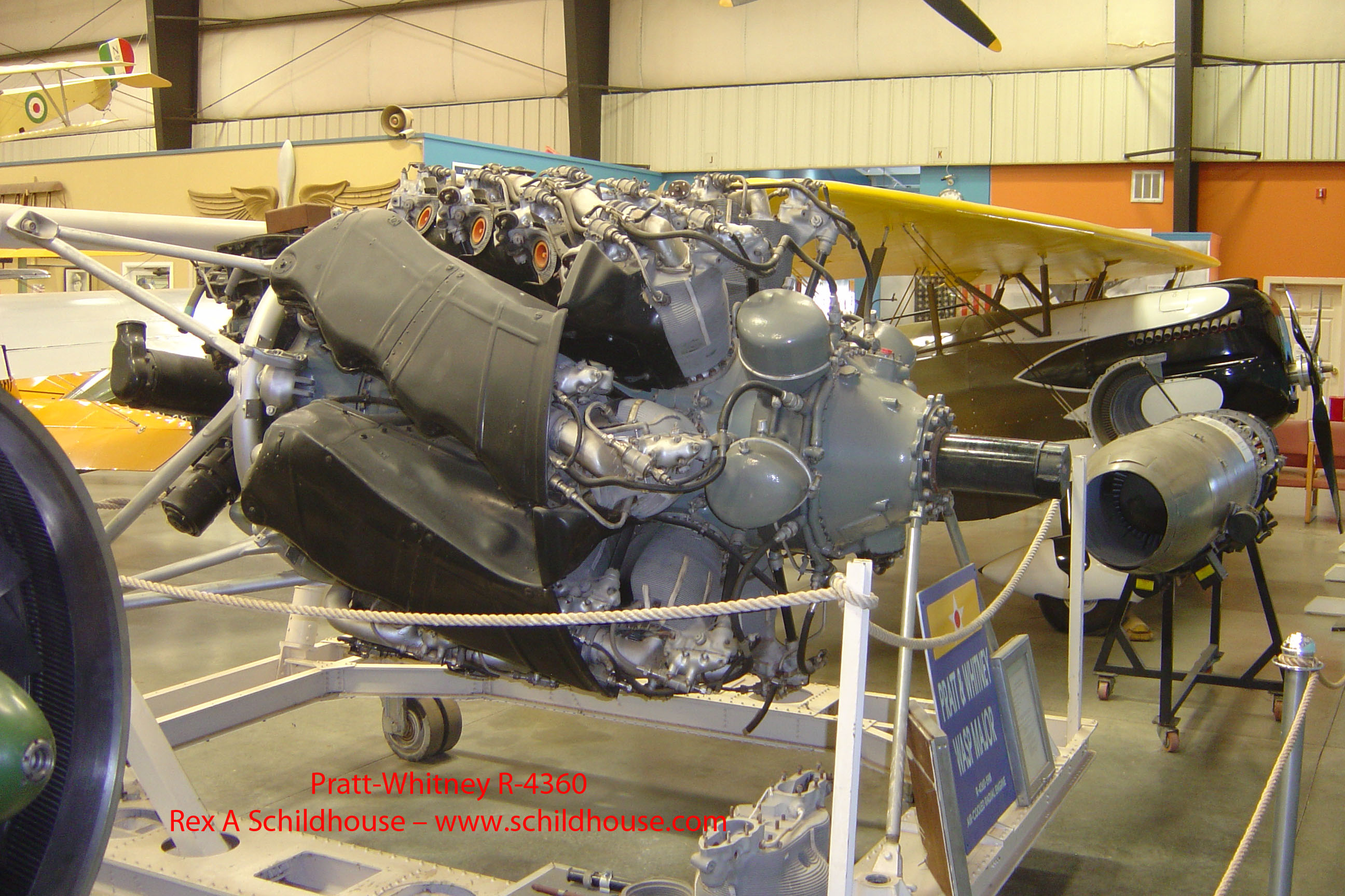 Pratt & Whitney R-4360 Radial Engine