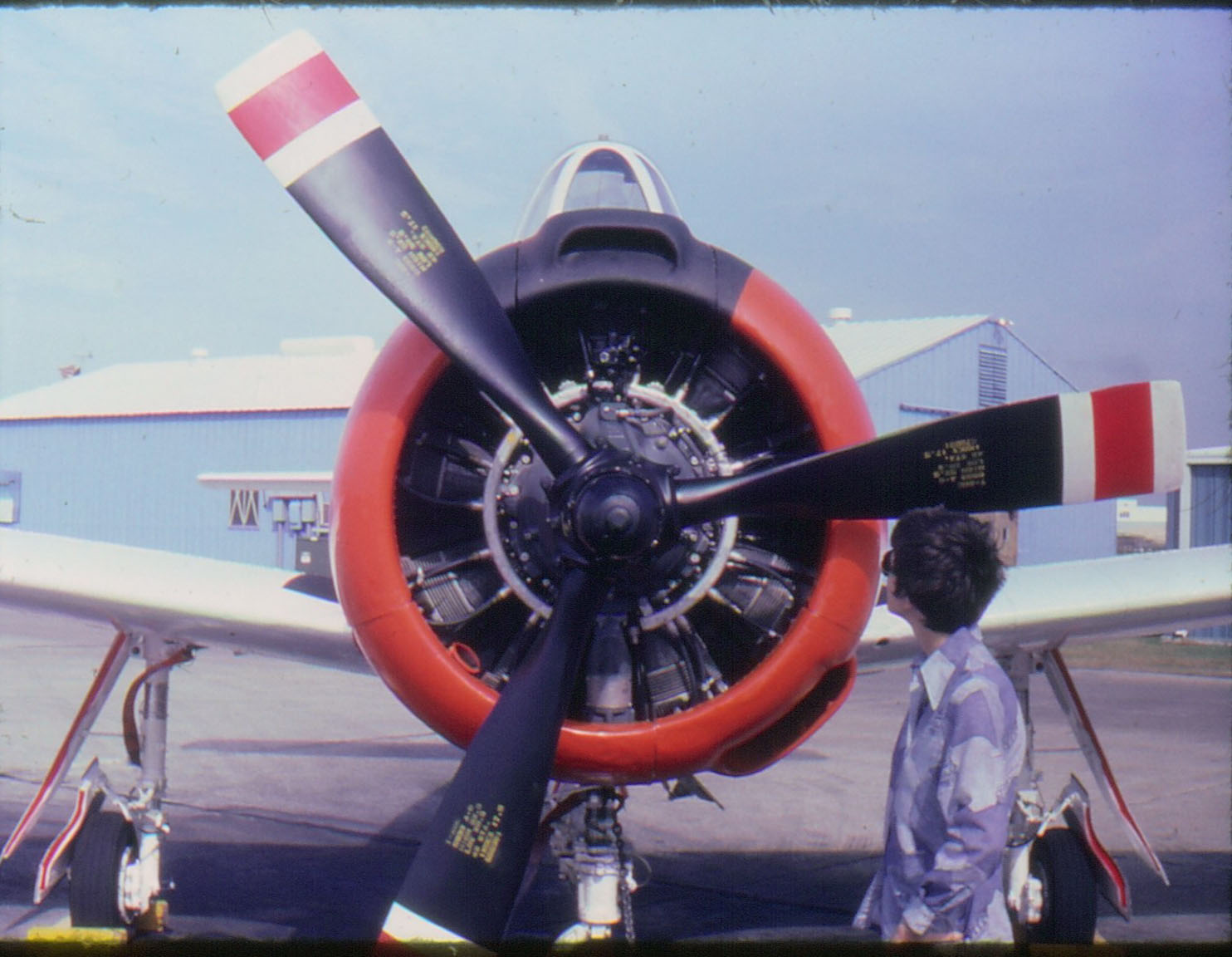 North American T-28C Trojan and Joyce