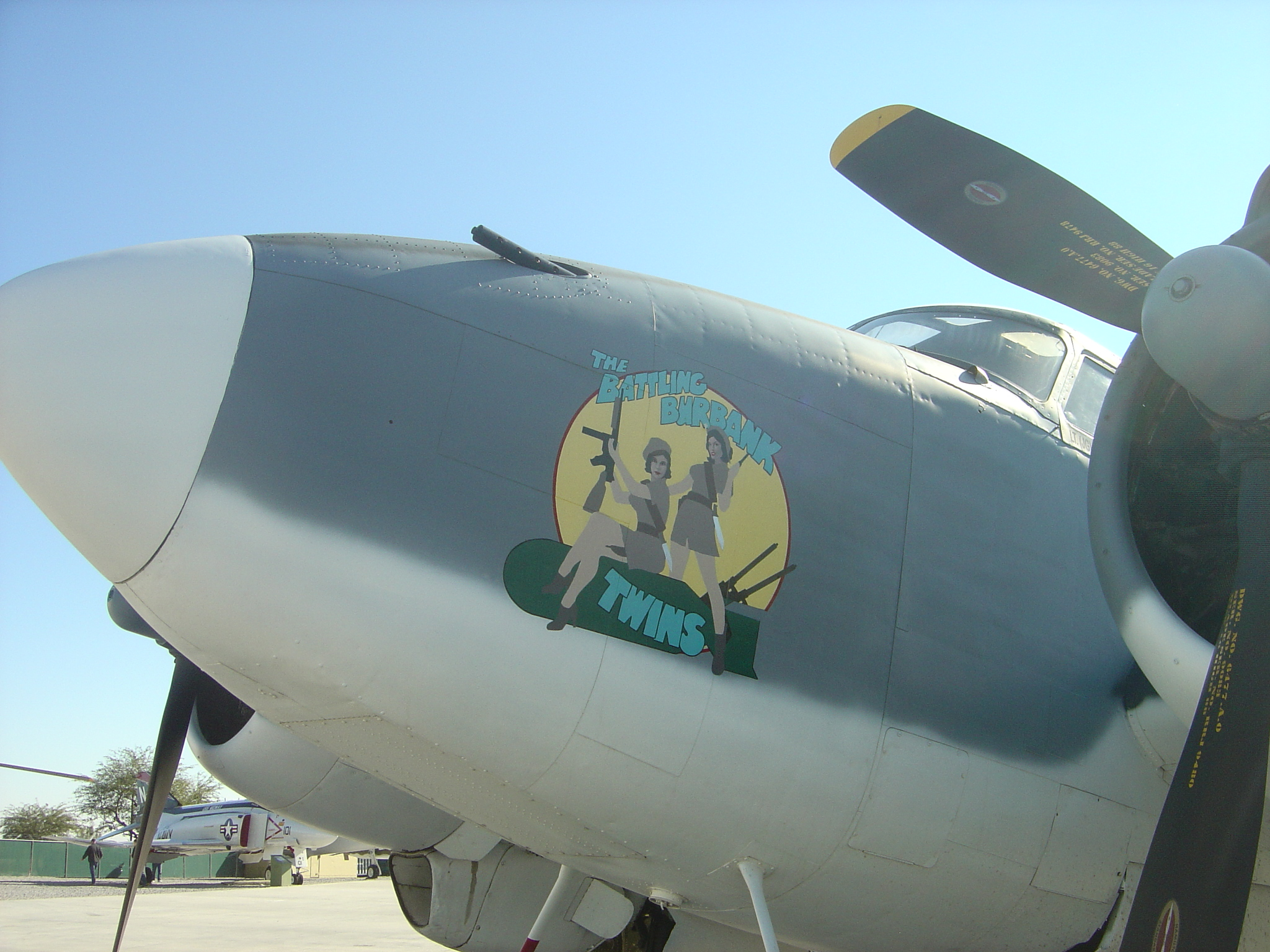 Lockheed PV-2 Harpoon Nose Art